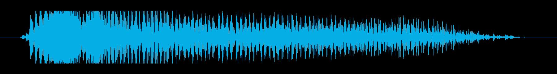 ヴァォォオオオの再生済みの波形