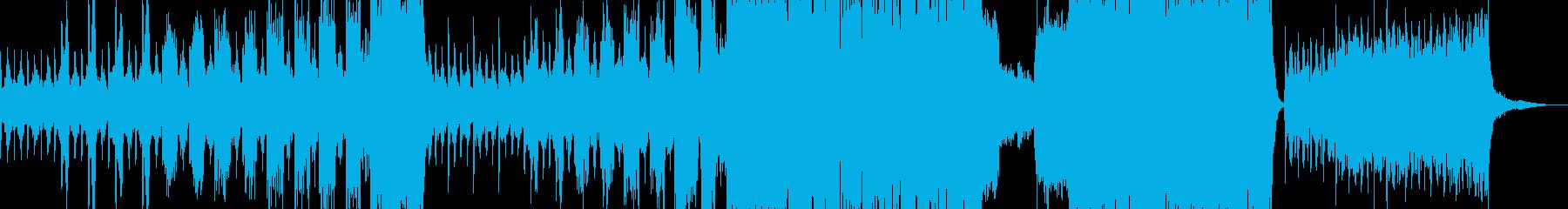 恐怖 差し迫るシーンに合うBGMの再生済みの波形
