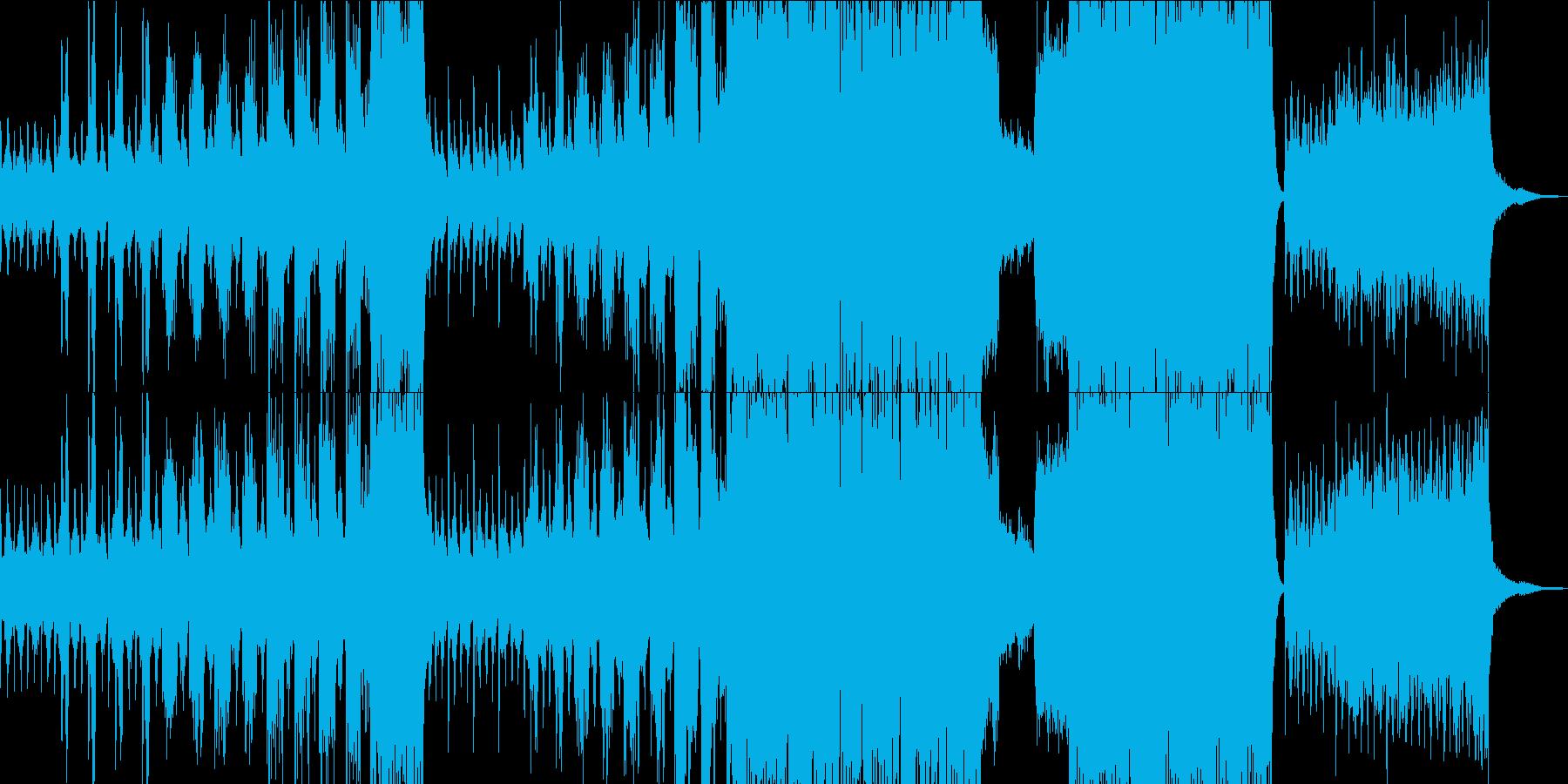 暗闇ダンジョンをイメージしたBGMの再生済みの波形