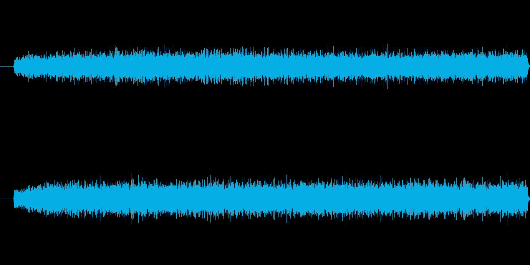 嵐の再生済みの波形