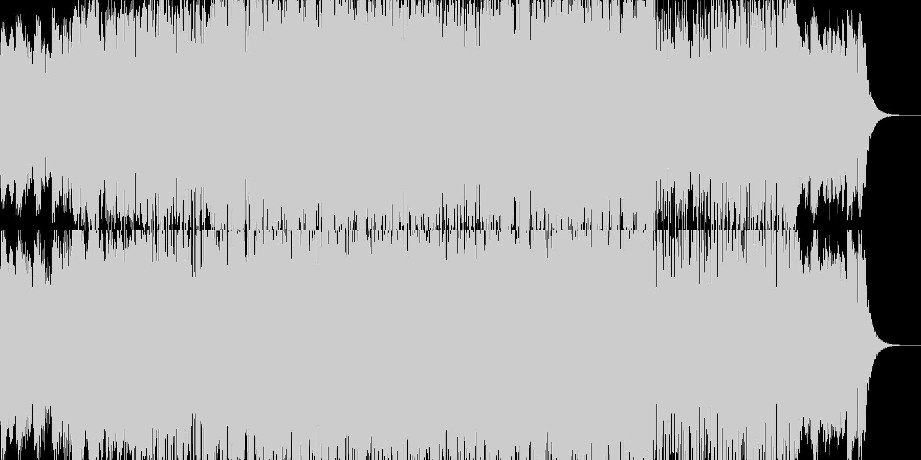 ノスタルジーを感じるオーボエ曲の未再生の波形