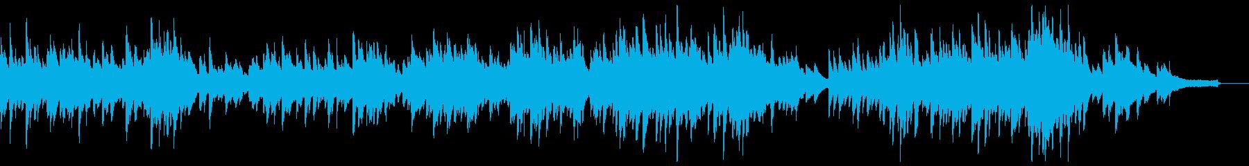 ブラームス間奏曲イ長調(ピアノソロ)の再生済みの波形