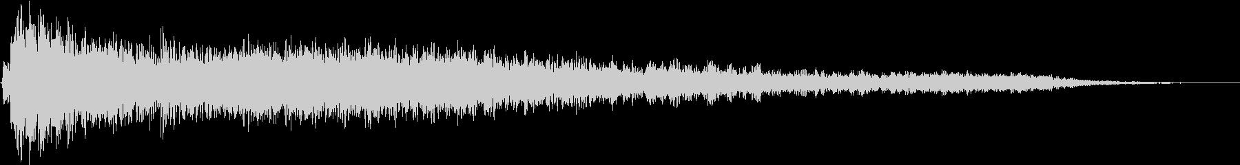 ヘビーエアパンクチャバーストの未再生の波形