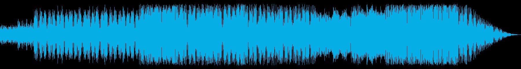 夜行列車をイメージしたスローなポップスの再生済みの波形