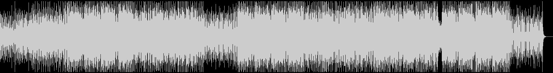 ノリノリ・ファンキー・ダンサブルの未再生の波形