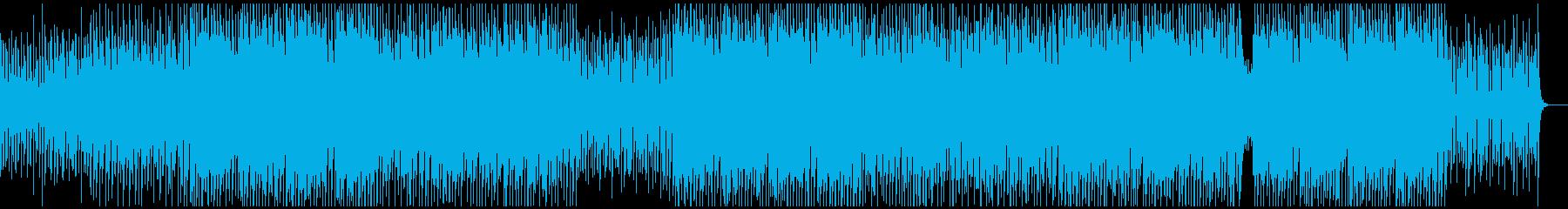 ノリノリ・ファンキー・ダンサブルの再生済みの波形