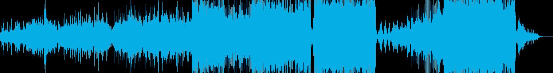 素敵な冬を彩るファンタジーポップ A2の再生済みの波形