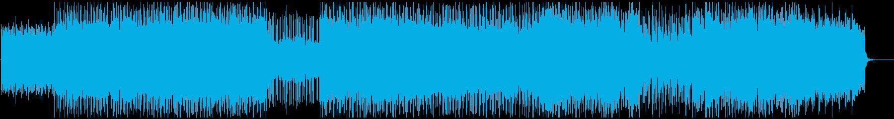 宇宙-IT-幻想的なエレクトロニカの再生済みの波形