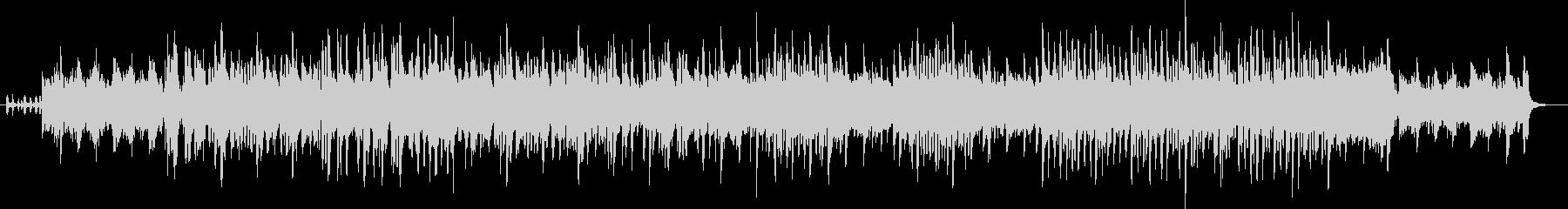 スペインのフラメンコ用テンポ240の曲の未再生の波形