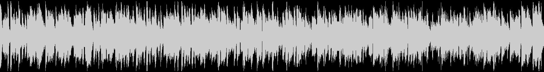 明るいカジノ系ジャズ ※ループ仕様版の未再生の波形