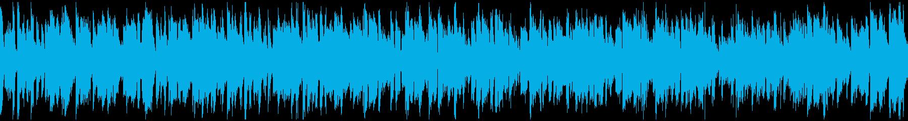明るいカジノ系ジャズ ※ループ仕様版の再生済みの波形
