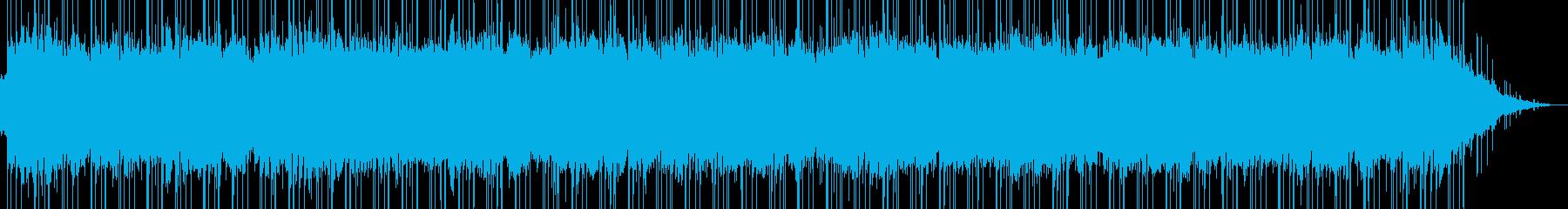 ほんわか優しいイージーリスニング02の再生済みの波形