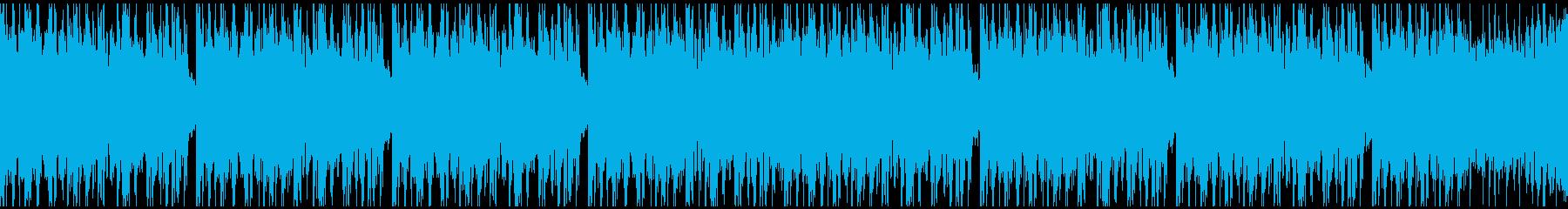 [ループ]ダンスミュージック2 30秒の再生済みの波形