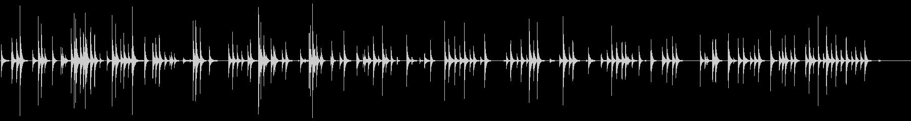 軽金属カウベル:ランダムラトル、ヘ...の未再生の波形