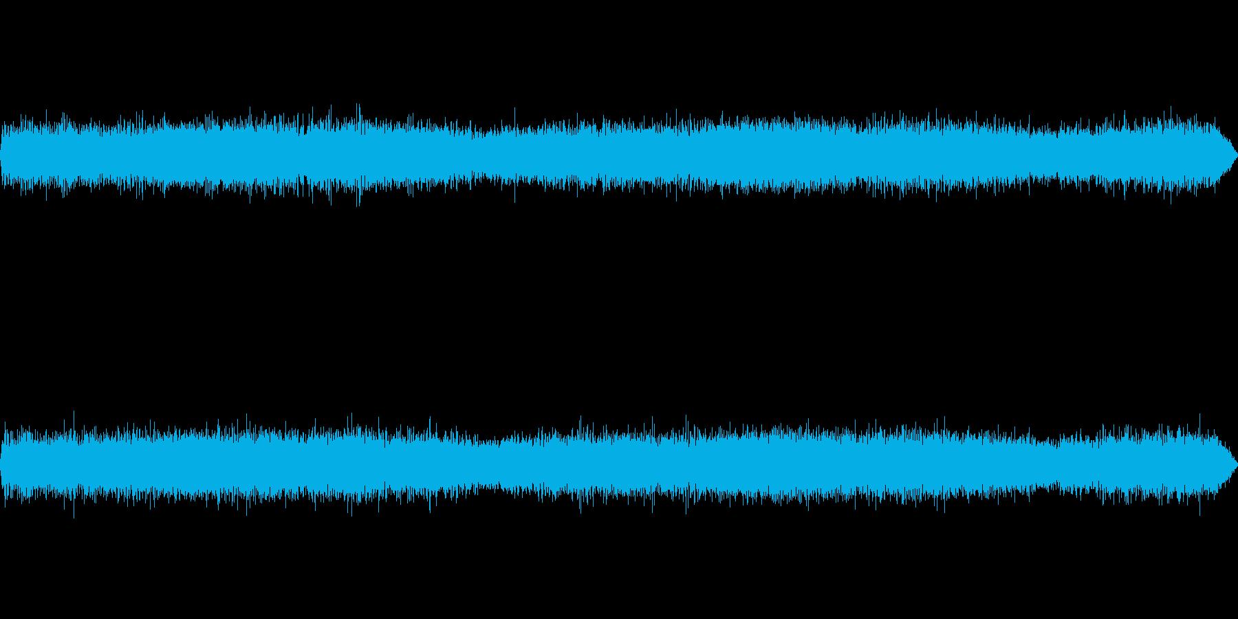 公園で秋虫(コオロギ)を収録の再生済みの波形