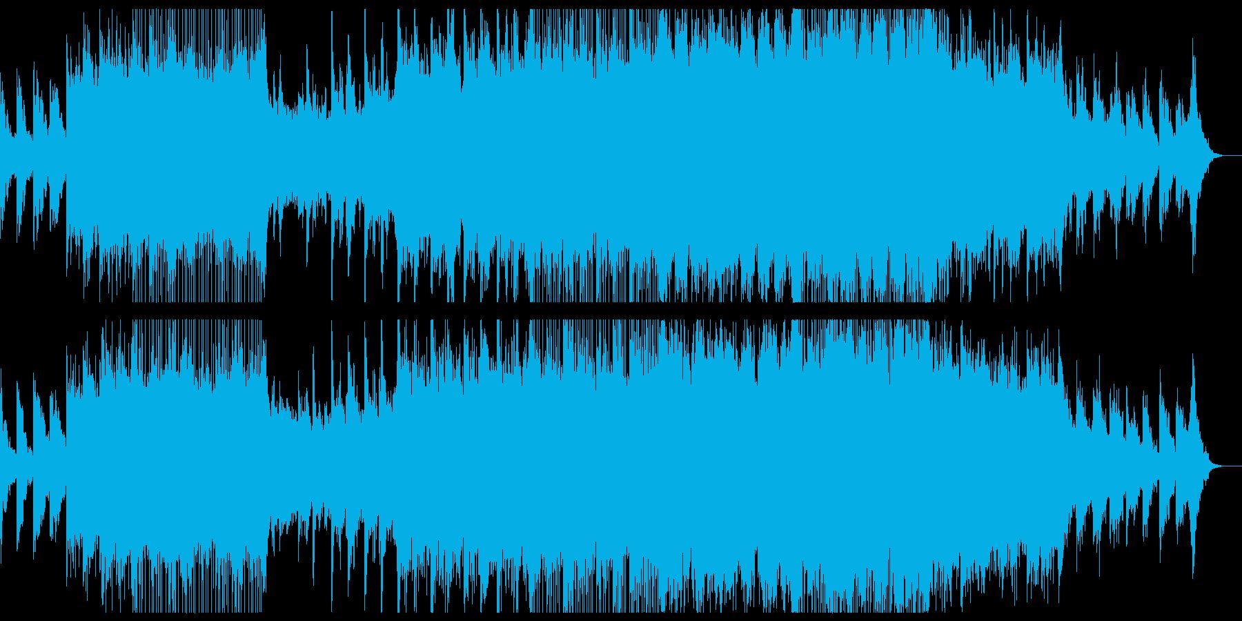爽やかな哀愁感のチルアウトギターポップ。の再生済みの波形