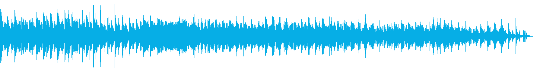 KANTピアノソロ穏やかな時間BGMの再生済みの波形