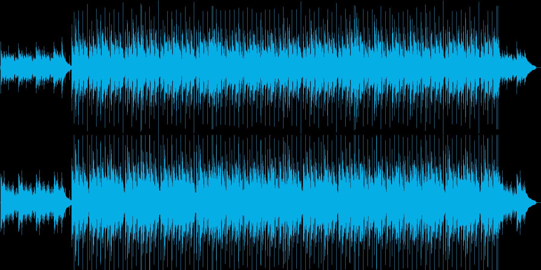 爽やか・軽快・ほのぼの・映像・ゲーム用の再生済みの波形