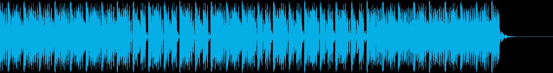 デジタル、CG、SFX等の映像ショート⑫の再生済みの波形