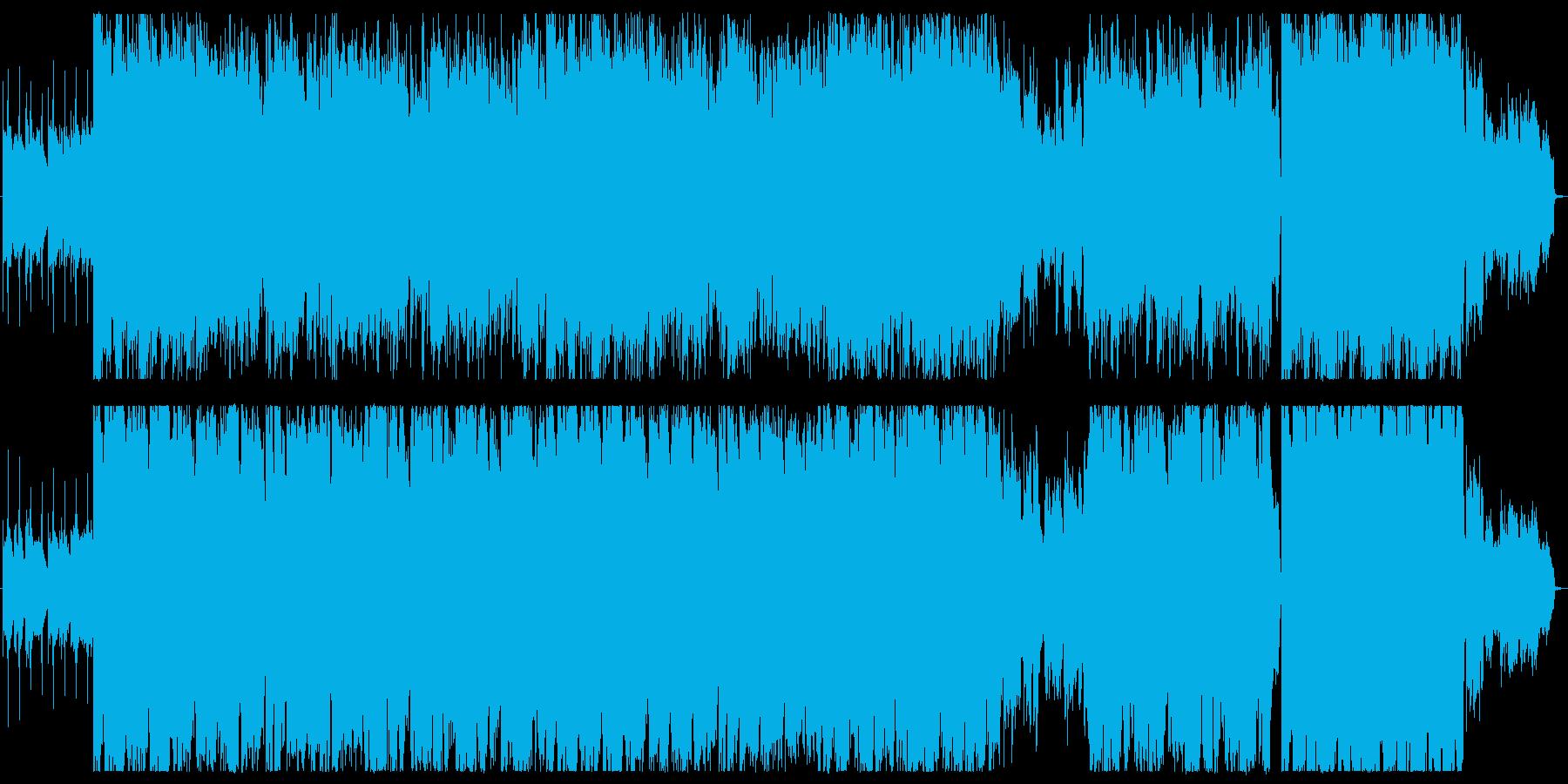 幻想的でおしゃれな雰囲気のバラードの再生済みの波形