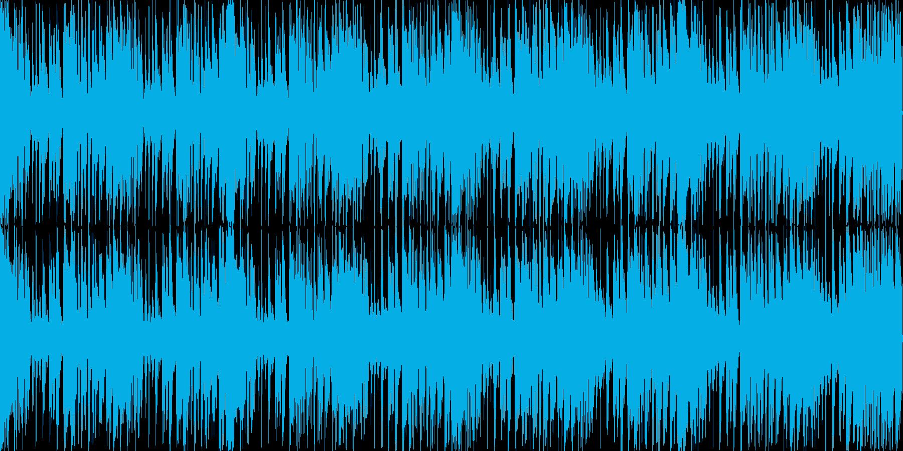 ループ素材を使用したサウンドに、後半メ…の再生済みの波形