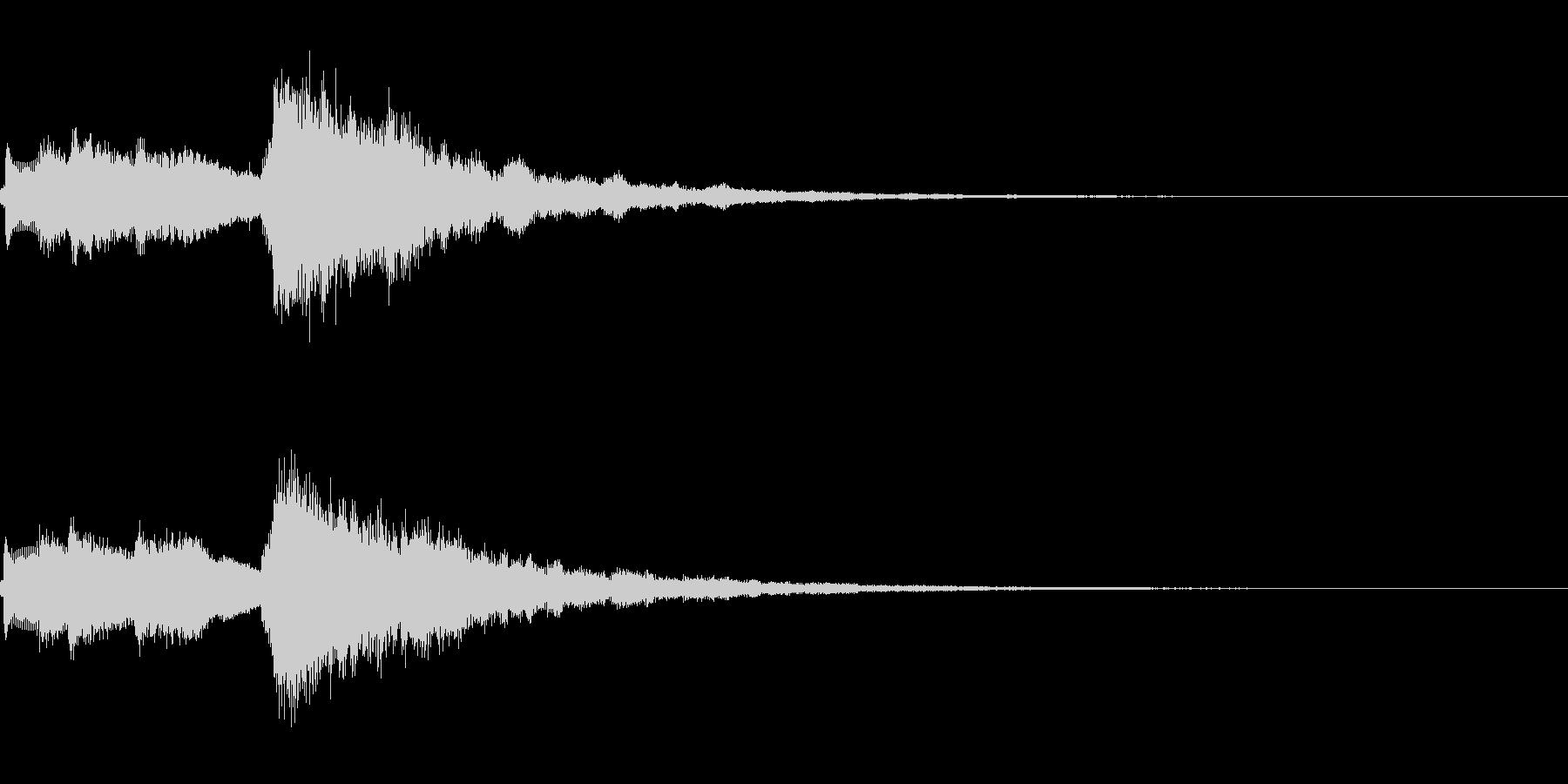 システム起動音_その7の未再生の波形