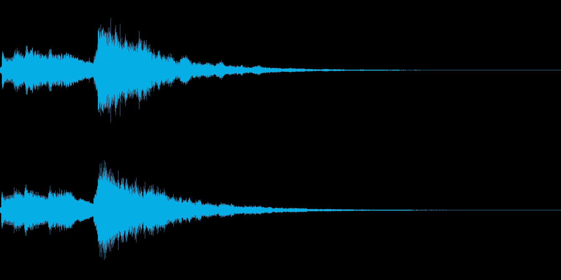 システム起動音_その7の再生済みの波形