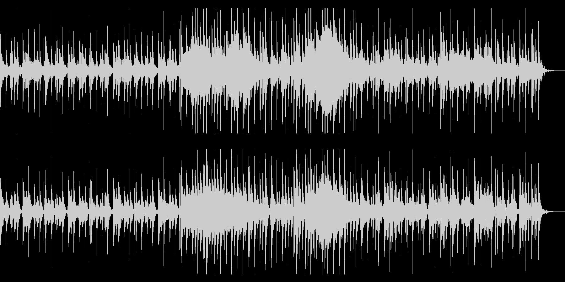 昔話で使われるようなのんきな和風BGMの未再生の波形