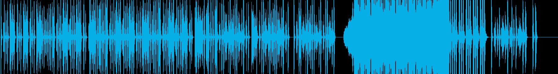 奇妙コミカル・不思議・疑問・ミステリアスの再生済みの波形