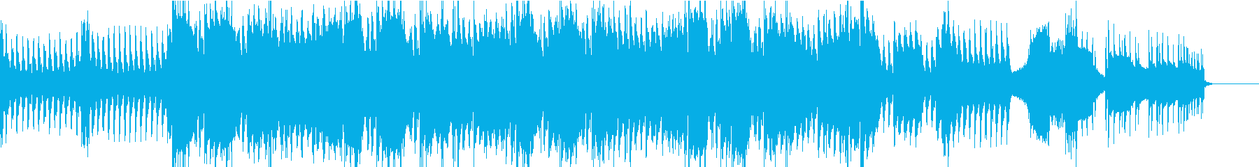 壮大な映画音楽のようなストリングスの再生済みの波形