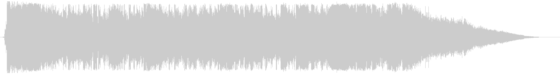 Luxurious ending of Disney-style waltz's unreproduced waveform