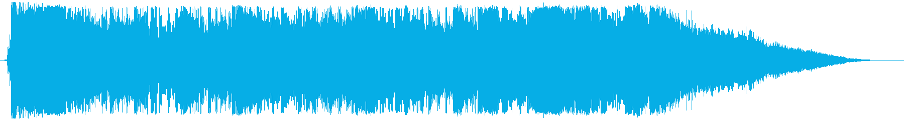 Luxurious ending of Disney-style waltz's reproduced waveform