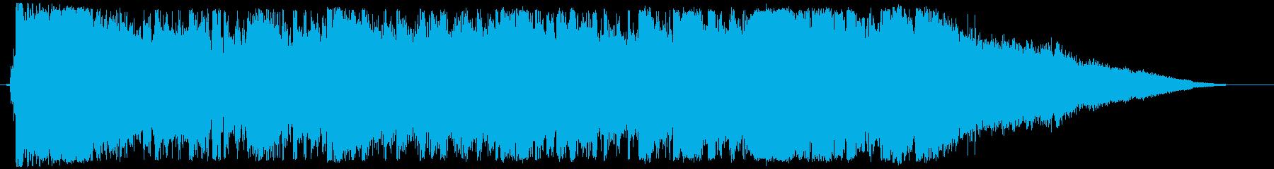 ディズニー風ワルツの豪華なエンディングの再生済みの波形