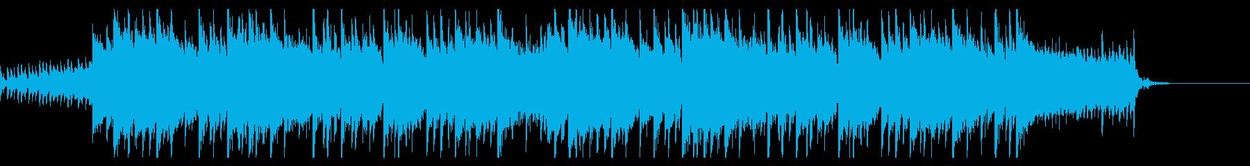 ニュース・情報番組、清涼ピアノポップスSの再生済みの波形
