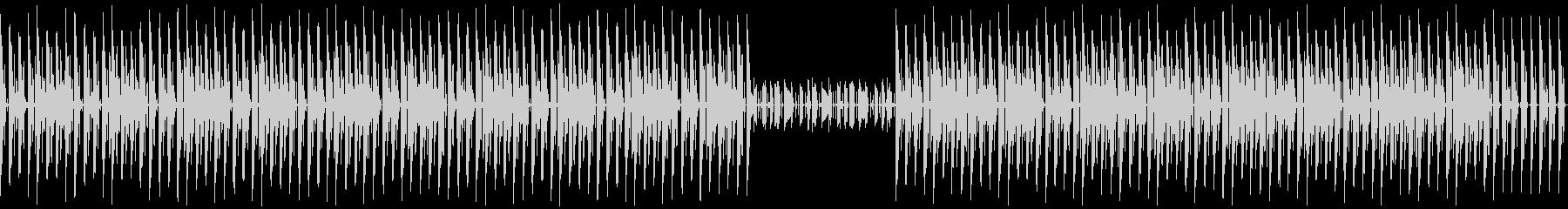 軽快なリズムでノリの良いBGM(ループ可の未再生の波形