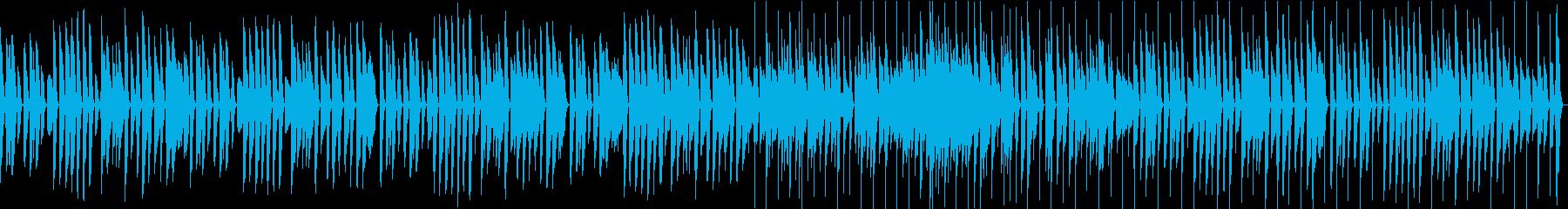 脱力・アコースティックピアノのコミカル曲の再生済みの波形