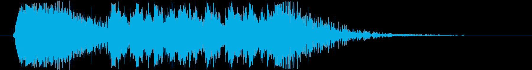 エレクトロ_ハイクオリティージングル_1の再生済みの波形