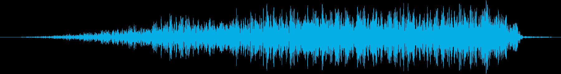 エアヒューッシュスイーパー1の再生済みの波形