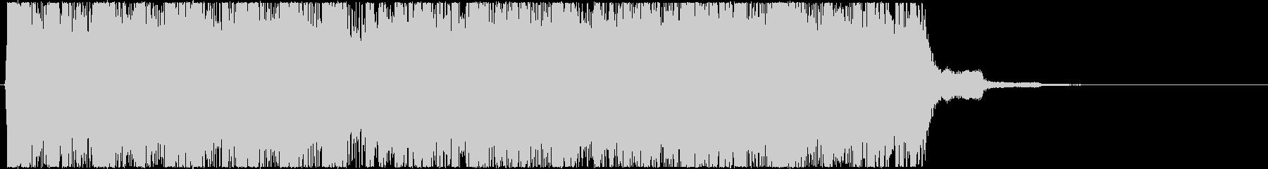 生演奏メタルなアイキャッチ13の未再生の波形