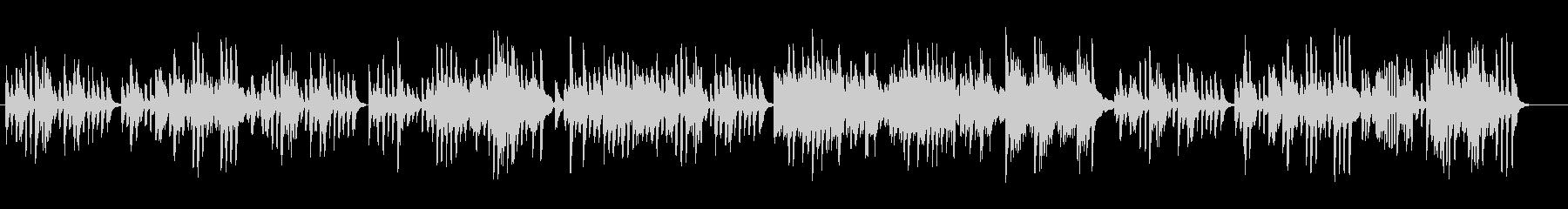 ハイドンのピアノソナタをピアノ演奏での未再生の波形