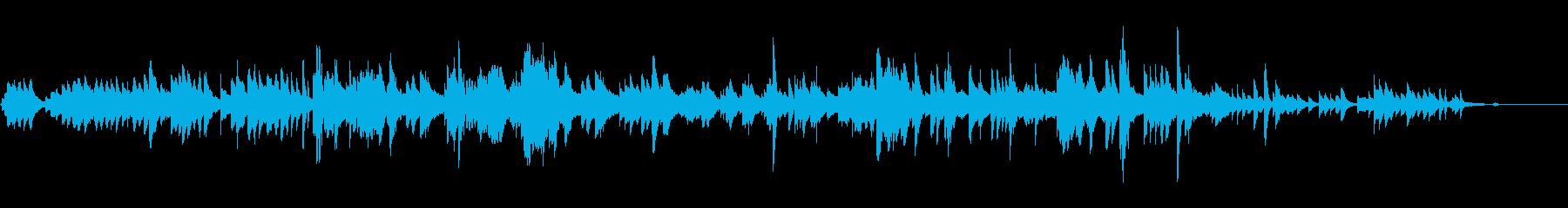 透き通る軽やかなピアノソロの再生済みの波形