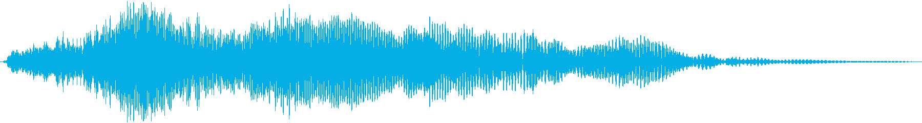 重低音が効いた高音質なサウンドの再生済みの波形