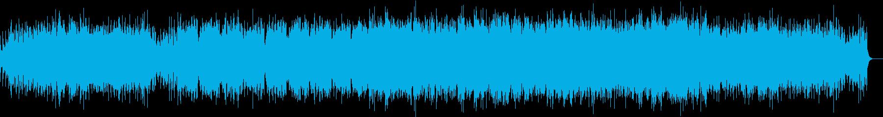 煌びやかで幻想的なサンバの再生済みの波形