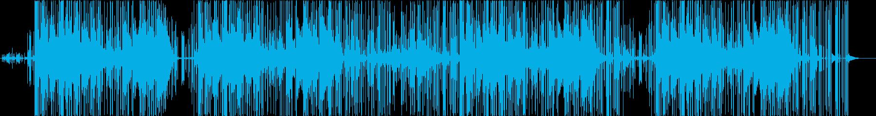 TRAP_民族的でインダストリアルの再生済みの波形