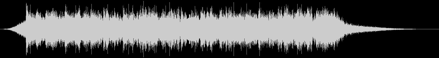 企業VP映像、152オーケストラ、爽快cの未再生の波形