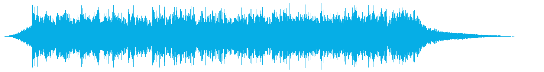 企業VP映像、152オーケストラ、爽快cの再生済みの波形