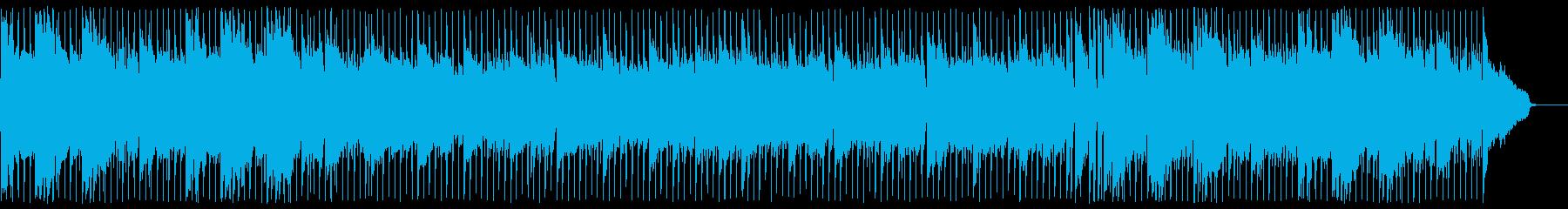 前向きで疾走感あるフュージョンの再生済みの波形