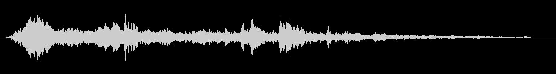 環境音 SFディープシー04の未再生の波形