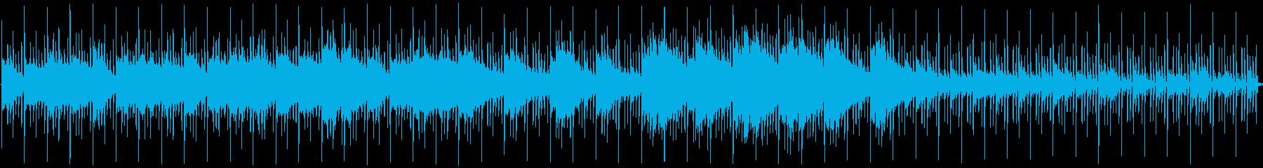 ラウンジの再生済みの波形