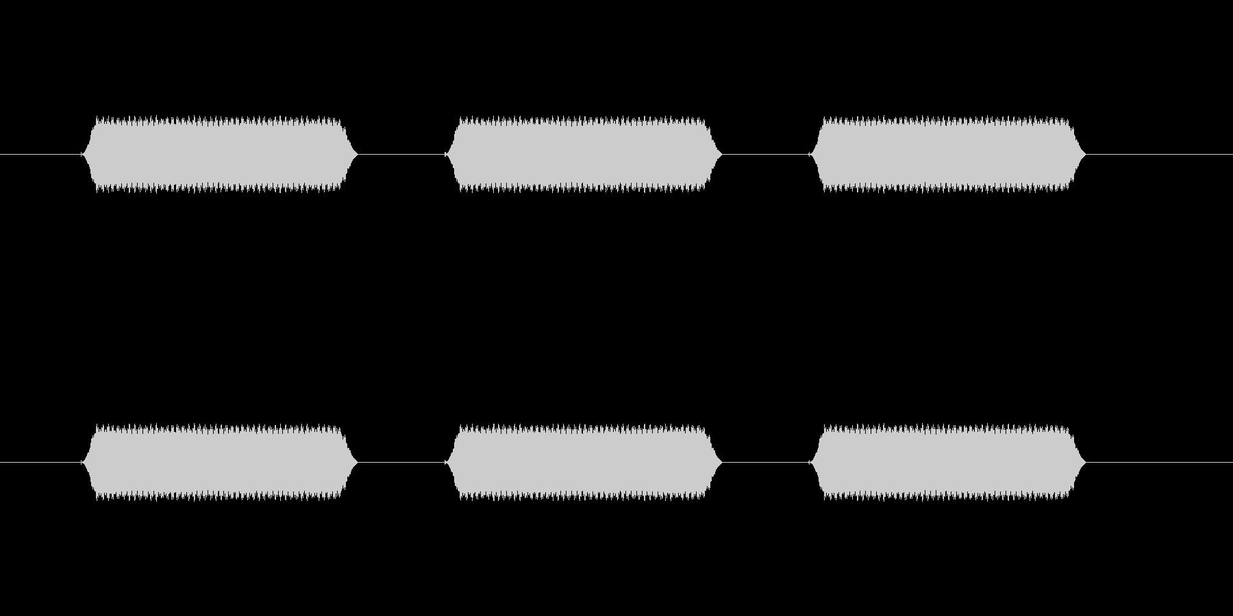 【汎用・セリフ音等】ピピピ(高)の未再生の波形